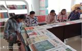 """扎兰屯市少年邮局举行""""十四冬""""倒计时100天集报收藏展"""